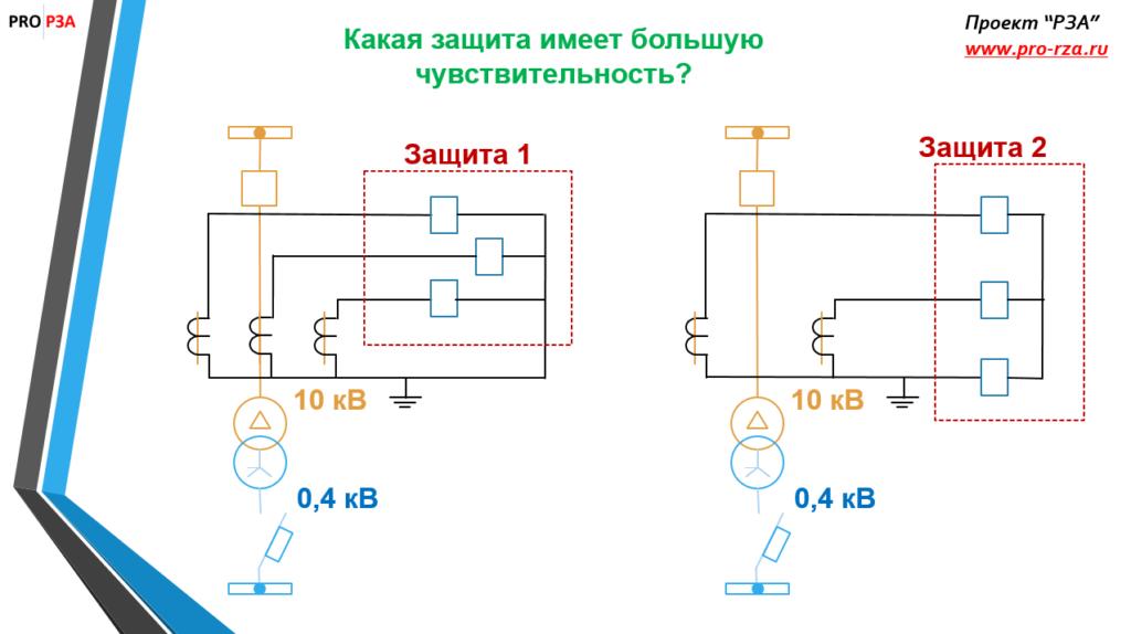 Трехрелейная схема - вариант 1 и вариант 2