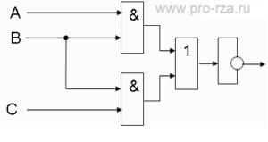 Логическая схема РЗА