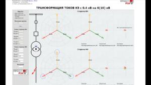 Влияние группы обмоток трансформатора на чувствительность релейной защиты